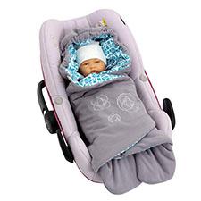 manta de bebe personalizada