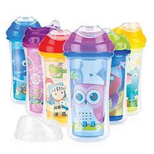 vaso con boquilla de bebe