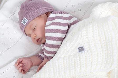 manta bordada para bebe