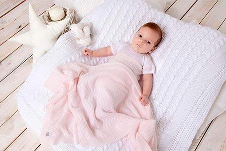 manta de verano para bebe