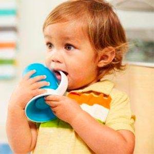 vasos de aprendizaje para bebes