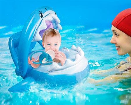flotadores divertidos bebe
