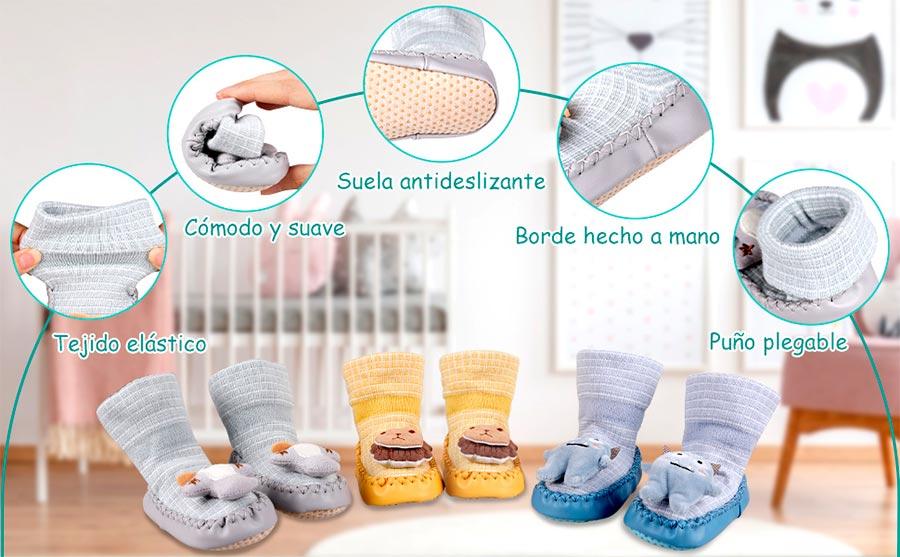calcetines antideslizantes para bebe