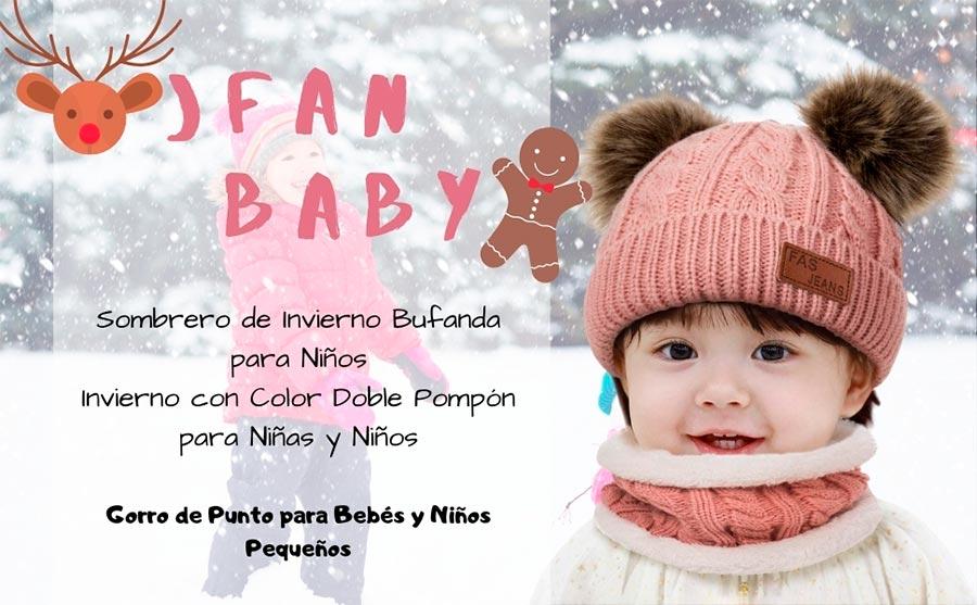 Gorro de bebé invierno