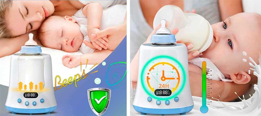 Calienta Biberones y Esterilizador bebe